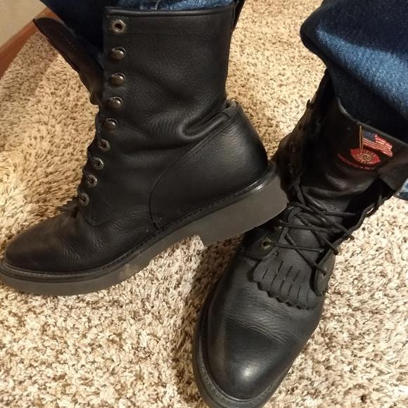 ada41ed79cd Men's Justin Work Boots - Exclusive Double Comfort